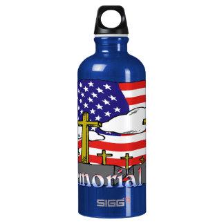 Memorial Day - Flag Gravestone 24oz Liberty Bottle SIGG Traveler 0.6L Water Bottle