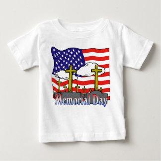 Memorial Day - Flag Gravestone Shirt