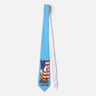 Memorial Day - Flag Gravestone Tie