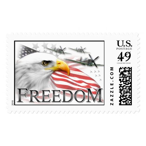 Memorial Day Freedom Stamp