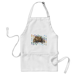 Memorial Day Garbage Truck May Adult Apron