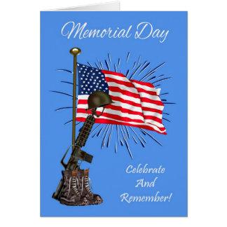 Memorial Day, general greeting card