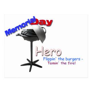 Memorial Day Hero Postcard
