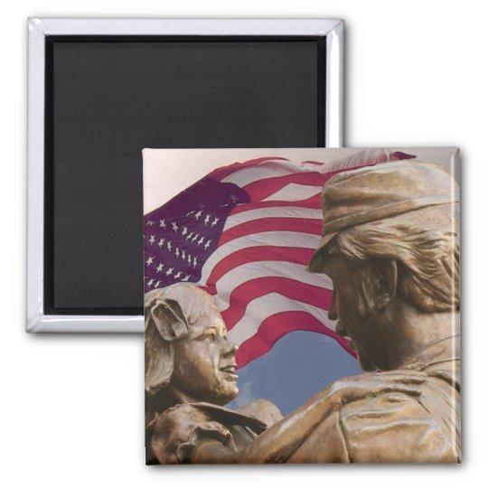 Memorial Day Homecoming Magnet