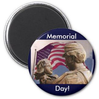 Memorial Day Homecoming Magnet