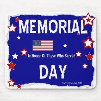 Memorial Day - In Honor - Mousepad