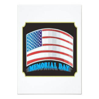 Memorial Day Invitaciones Personalizada