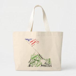 Memorial Day (Iwo Jima Flag Raising) in Tagxedo Bag