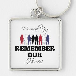 Memorial Day Keychain