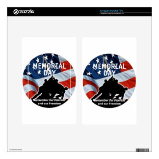 Memorial Day Kindle Fire Skin