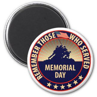 Memorial Day Magnet
