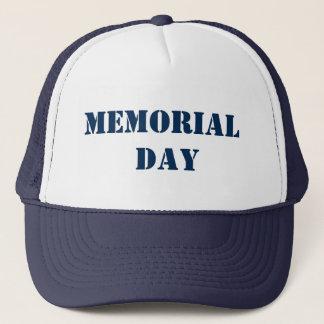 MEMORIAL DAY MemorialDAY Memorial+Day Trucker Hat
