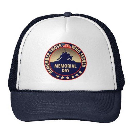 Memorial Day Mesh Hat