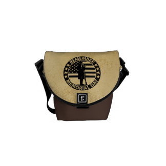 Memorial Day Messenger Bag