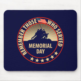 Memorial Day Mouse Pad