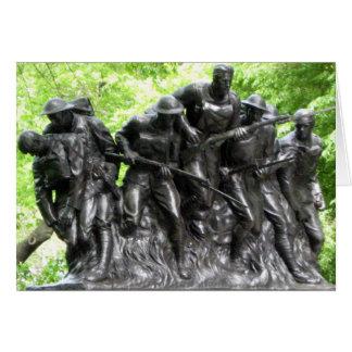 Memorial Day New York 107th Infantry Memorial Card