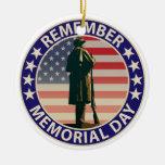 Memorial Day Ornatos