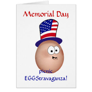 Memorial Day Picnic EGGStravaganza! Card