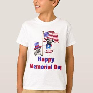 Memorial Day Pugs.png Playera