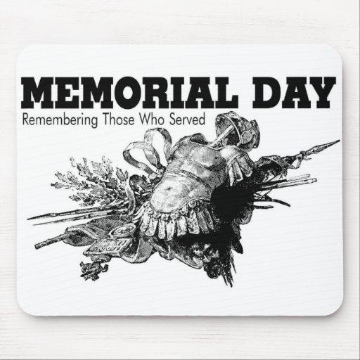 Memorial Day que recuerda a los que sirvieron Alfombrilla De Ratón