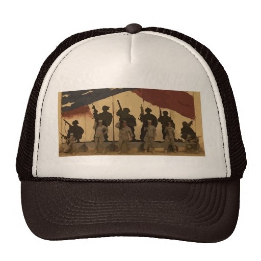 Memorial Day: Remember with Pride Mesh Hat