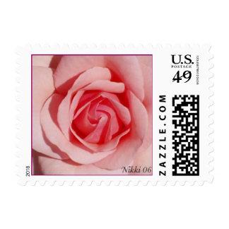 Memorial Day Rose Postage Stamp
