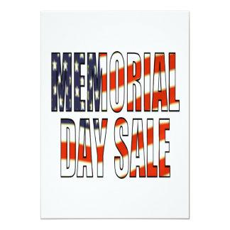 Memorial Day Sale Card