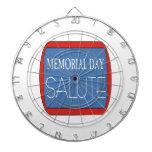 Memorial Day Salute 1.png Dartboard With Darts