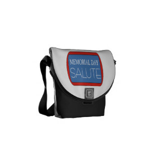 Memorial Day Salute 1.png Courier Bags