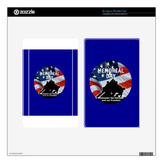 Memorial Day Skin For Kindle Fire