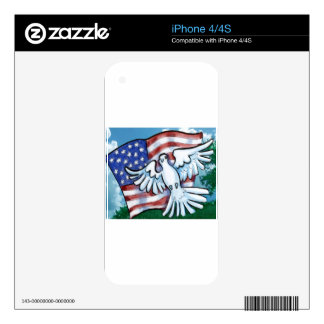 Memorial Day Skin For The iPhone 4