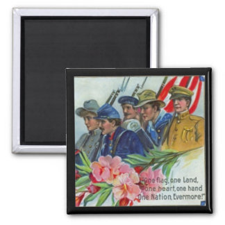 Memorial Day Soldiers Magnet