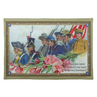 Memorial Day Soldiers Place Mats