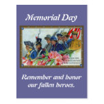 Memorial Day Soldiers Postcards