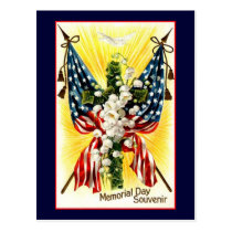Memorial Day Souvenir Postcard
