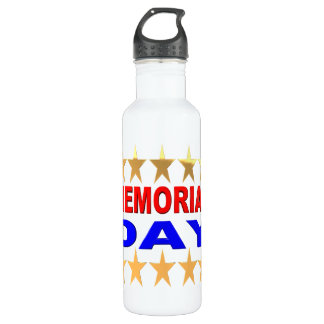 Memorial Day Stainless Steel Water Bottle