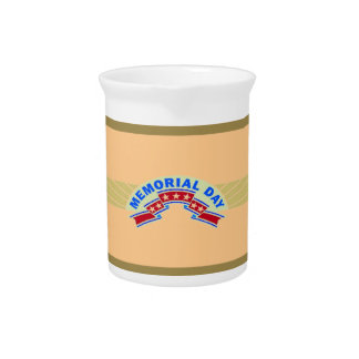 Memorial Day Stars - Beverage Pitcher