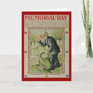 Memorial Day The Fallen card