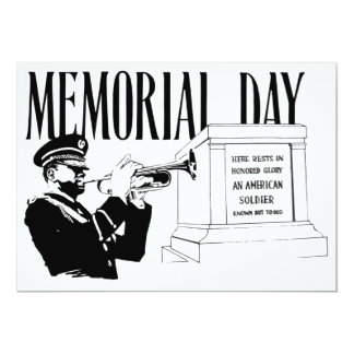 Memorial Day Tomb of the Unknown Card