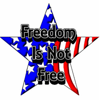 Memorial Day Tribute Freedom Is Not Free KeyChain