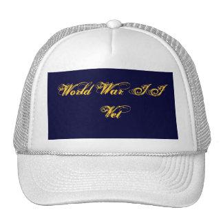 Memorial Day World War II  Vet  Trucker's Hat