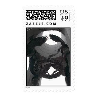 Memorial Eagles Stamp
