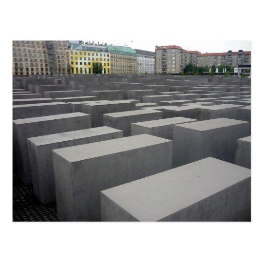 memorial field berlin postcard
