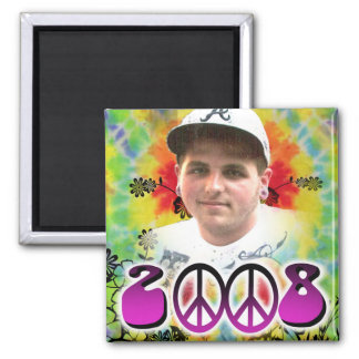 memorial for kyle 2 inch square magnet
