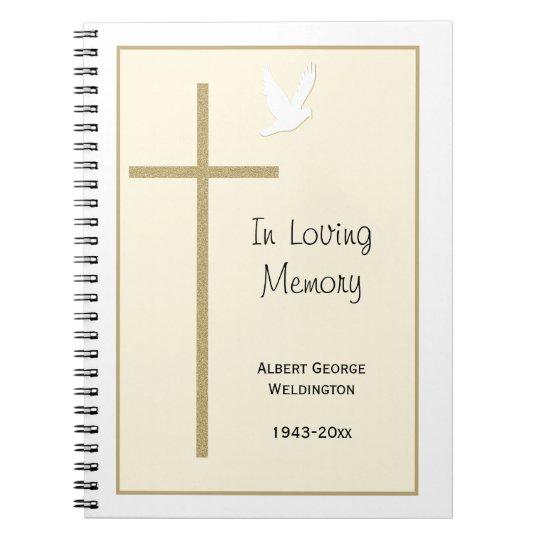 memorial guest book templates