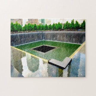 Memorial Ground Zero New York. Jigsaw Puzzle