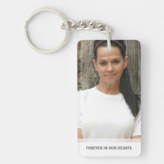 Memorial - Horses Running Back - They Are Where We Rectangle Acrylic Keychains