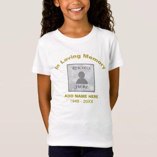 Memorial  In Loving Memory Tshirt