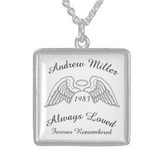 Memorial Keepsake Custom Pendant