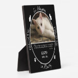 Memorial - Loss of Cat- Custom Photo/Name Plaque<br><div class='desc'>Insert your cat&#39;s photo,  name and birth/death dates in this custom plaque to memorialize your beloved pet.</div>